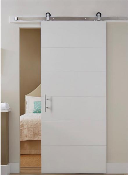 Aberturas mitre puertas de interior corrediza paralela for Puertas de granero para interior