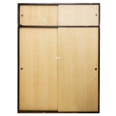 Aberturas mitre frentes de placard tradicional for Puertas de frente de madera