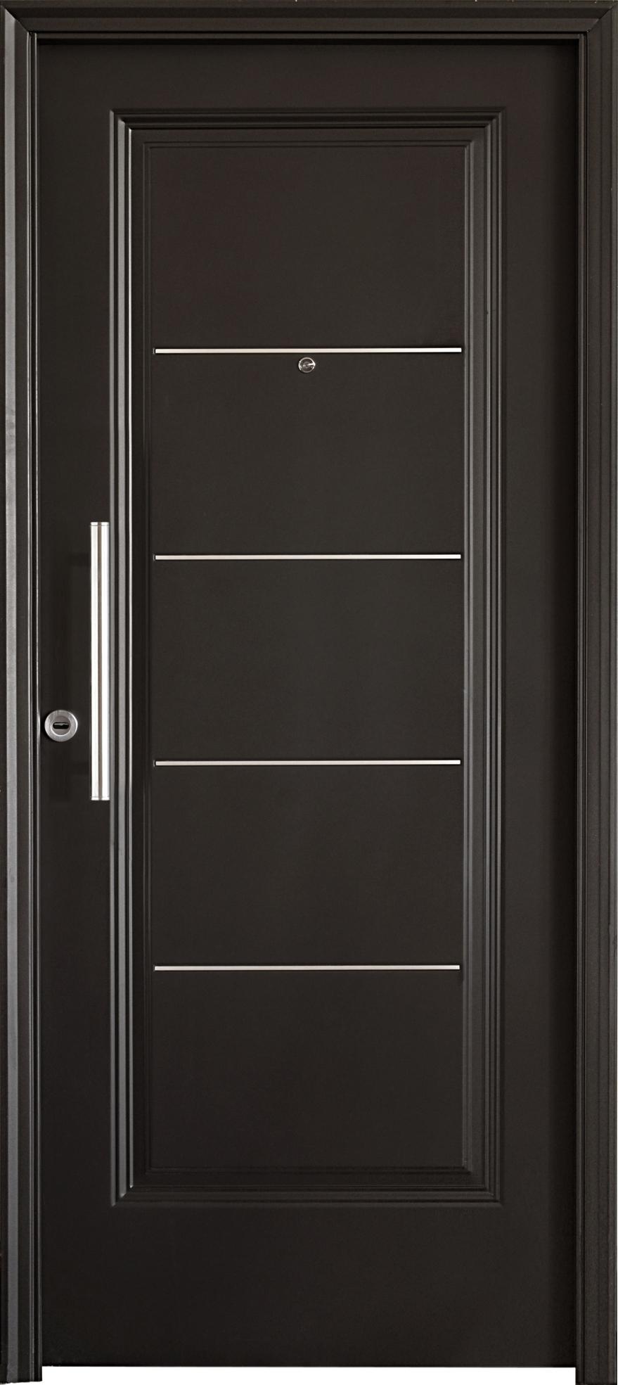 Aberturas mitre puertas de exterior chapa acero for Puertas de exterior