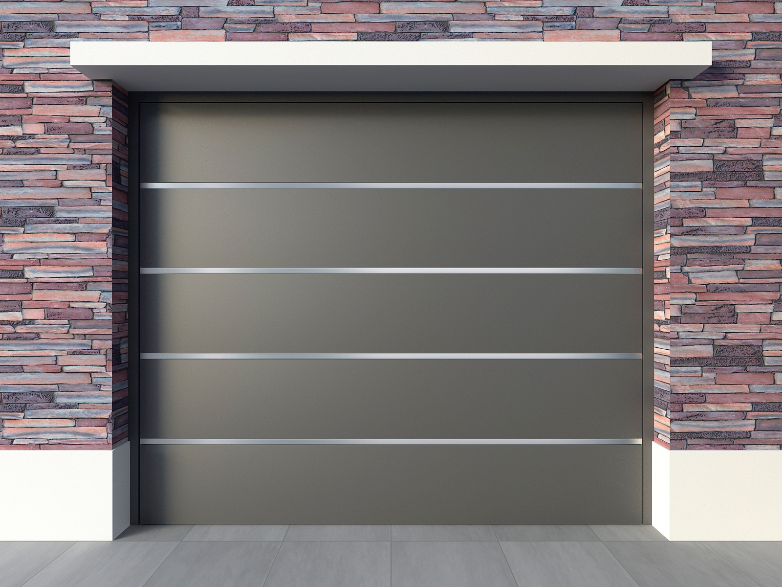 Aberturas mitre portones levadizos metalicos for Portones para garage