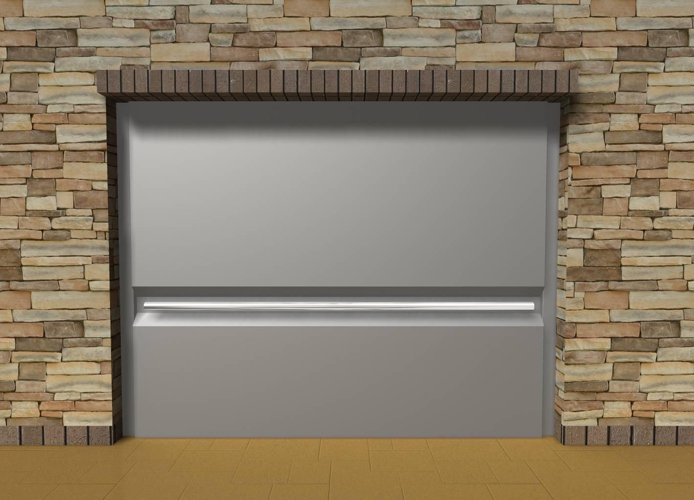 Aberturas mitre portones levadizos metalicos - Portones de madera para exterior ...