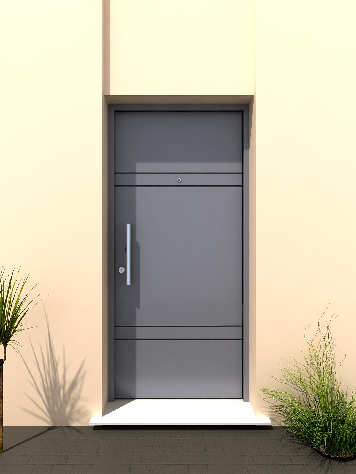 Aberturas mitre puertas de exterior chapa metalicas for Puertas exterior metalicas baratas